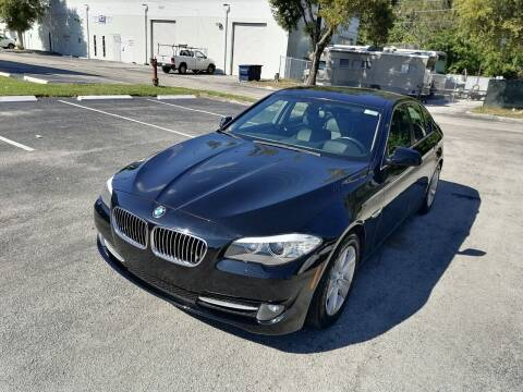 2013 BMW 5 Series for sale at Best Price Car Dealer in Hallandale Beach FL