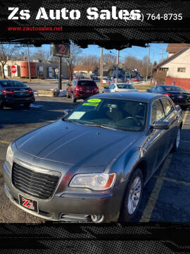 2011 Chrysler 300 for sale at Zs Auto Sales in Kenosha WI