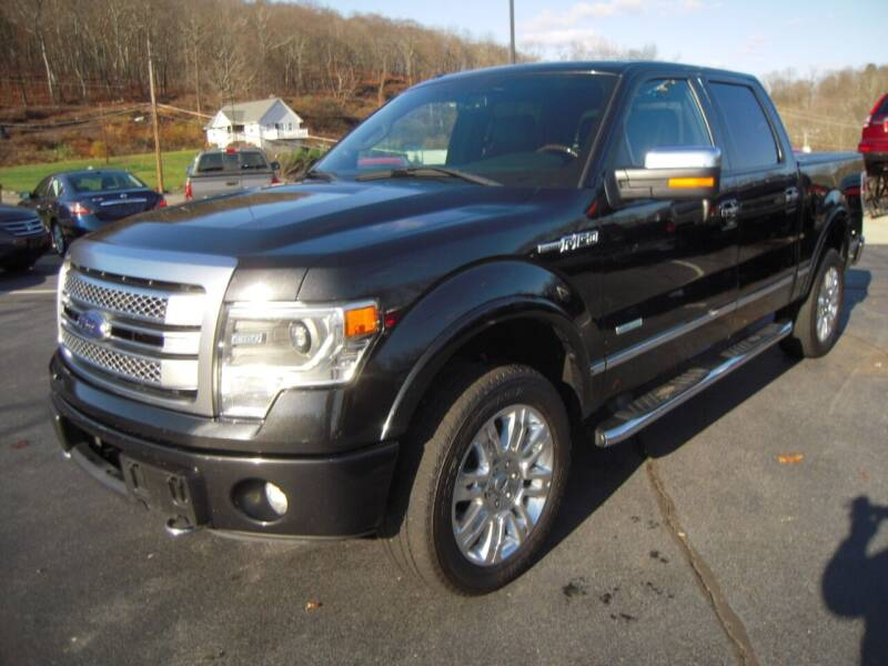 2013 Ford F-150 for sale at 1-2-3 AUTO SALES, LLC in Branchville NJ