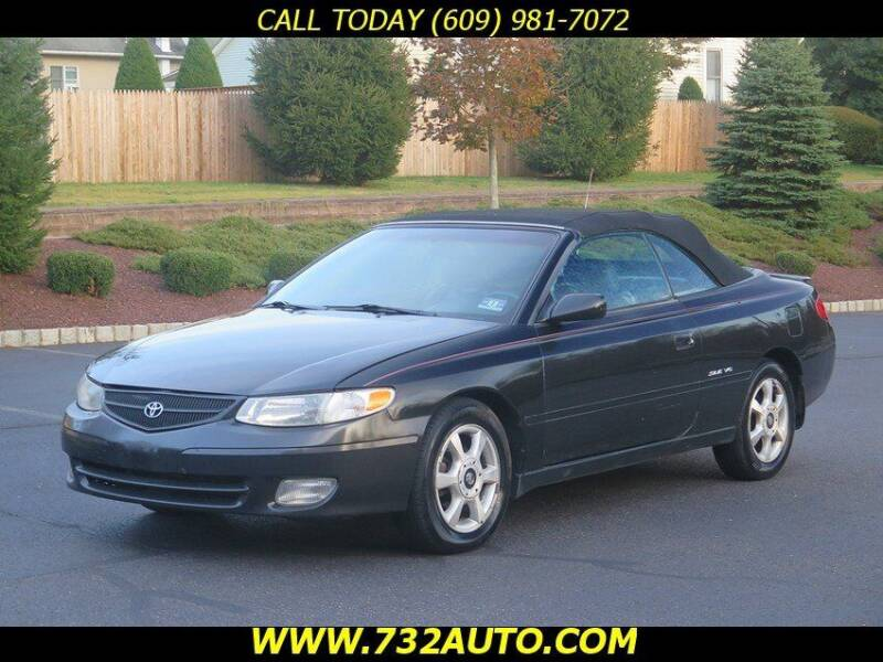2001 Toyota Camry Solara for sale at Absolute Auto Solutions in Hamilton NJ