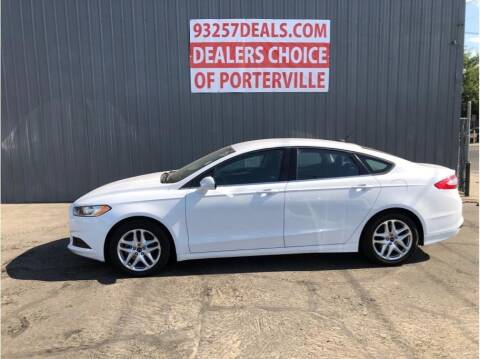 2013 Ford Fusion for sale at Dealers Choice Inc in Farmersville CA
