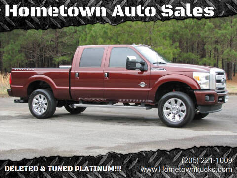 2015 Ford F-250 Super Duty for sale at Hometown Auto Sales - Trucks in Jasper AL