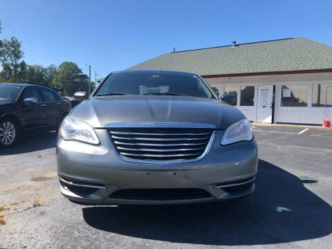 2012 Chrysler 200 for sale at R3A USA Motors in Lawrenceville GA