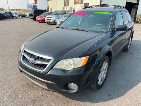 2009 Subaru Outback for sale at BELOW BOOK AUTO SALES in Idaho Falls ID