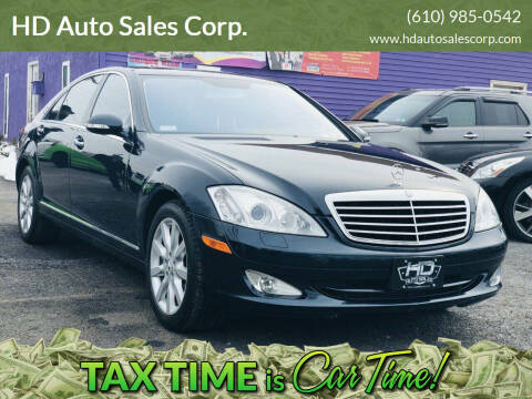 2007 Mercedes-Benz S-Class for sale at HD Auto Sales Corp. in Reading PA