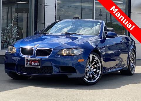 2011 BMW M3 for sale at Carmel Motors in Indianapolis IN