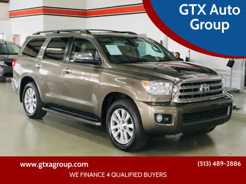 2011 Toyota Sequoia for sale at GTX Auto Group in West Chester OH