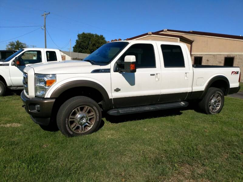 2016 Ford F-250 Super Duty for sale at KW TRUCKING OF KS in Saint Paul KS