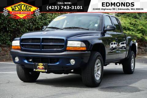 2002 Dodge Dakota for sale at West Coast Auto Works in Edmonds WA