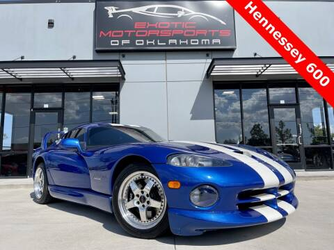 1997 Dodge Viper for sale at Exotic Motorsports of Oklahoma in Edmond OK