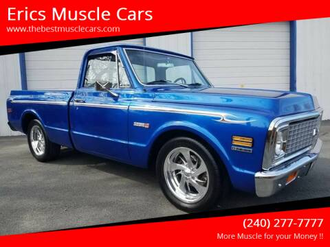 1971 Chevrolet C/K 10 Series for sale at Erics Muscle Cars in Clarksburg MD