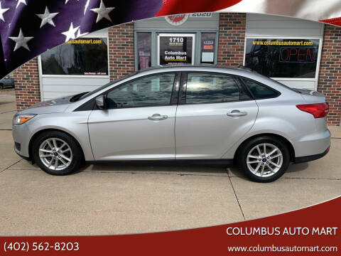 2016 Ford Focus for sale at Columbus Auto Mart in Columbus NE