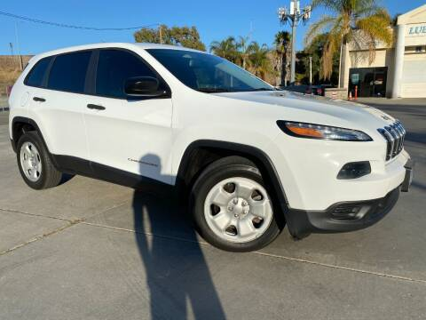 2014 Jeep Cherokee for sale at Luxury Auto Lounge in Costa Mesa CA