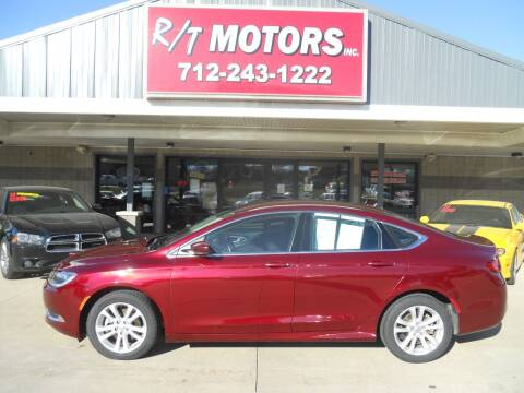 2015 Chrysler 200 for sale at RT Motors Inc in Atlantic IA