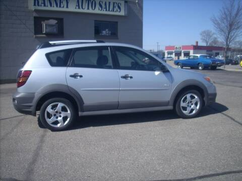 2006 Pontiac Vibe for sale at Ranney's Auto Sales in Eau Claire WI