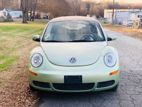 2008 Volkswagen New Beetle Convertible for sale at Speed Auto Mall in Greensboro NC
