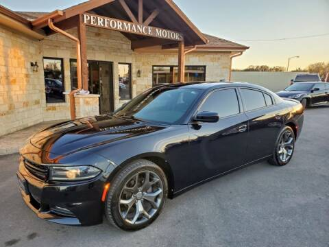 2015 Dodge Charger for sale at Performance Motors Killeen Second Chance in Killeen TX