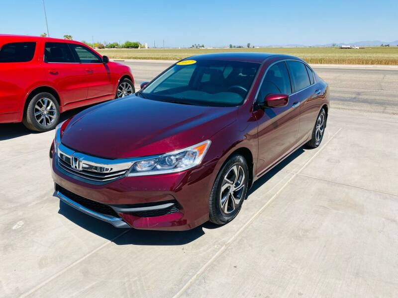 2017 Honda Accord for sale at A AND A AUTO SALES in Gadsden AZ