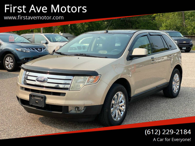 2007 Ford Edge for sale at First Ave Motors in Shakopee MN