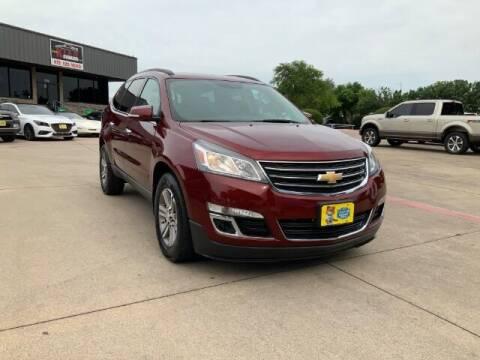 2017 Chevrolet Traverse for sale at KIAN MOTORS INC in Plano TX