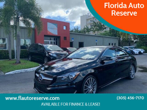 2016 Mercedes-Benz CLA for sale at Florida Auto Reserve in Medley FL