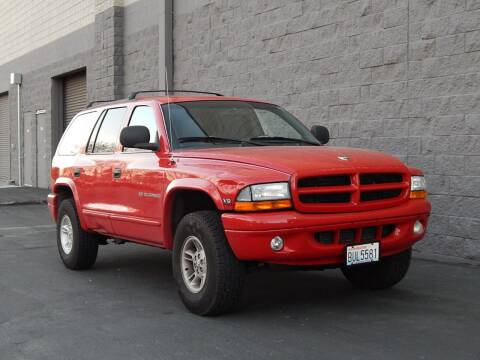 1999 Dodge Durango for sale at Gilroy Motorsports in Gilroy CA