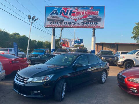 2014 Honda Accord for sale at ANF AUTO FINANCE in Houston TX