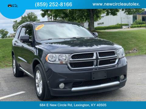 2012 Dodge Durango for sale at New Circle Auto Sales LLC in Lexington KY