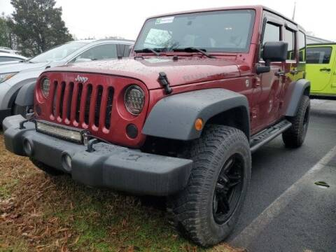2012 Jeep Wrangler Unlimited for sale at Impex Auto Sales in Greensboro NC