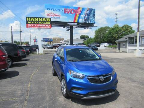 2017 Buick Encore for sale at Hanna's Auto Sales in Indianapolis IN