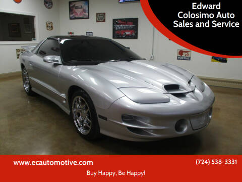 2000 Pontiac Firebird for sale at Edward Colosimo Auto Sales and Service in Evans City PA