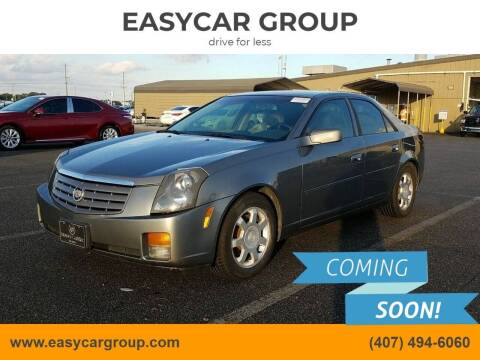 2004 Cadillac CTS for sale at EASYCAR GROUP in Orlando FL