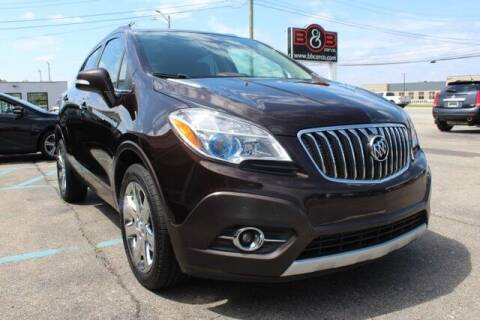 2014 Buick Encore for sale at B & B Car Co Inc. in Clinton Township MI