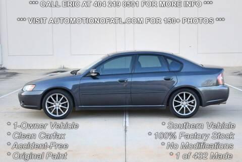 2007 Subaru Legacy for sale at Automotion Of Atlanta in Conyers GA