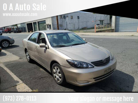2003 Toyota Camry for sale at O A Auto Sale in Paterson NJ