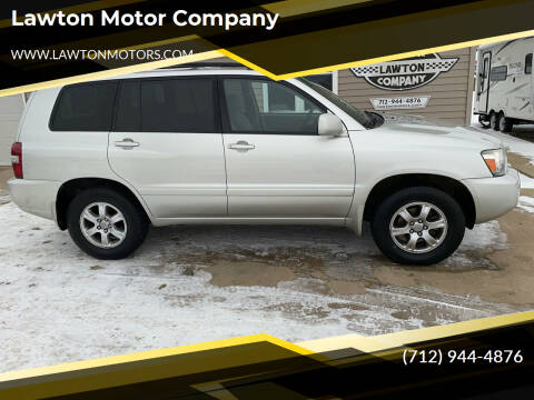 2007 Toyota Highlander for sale at Lawton Motor Company in Lawton IA