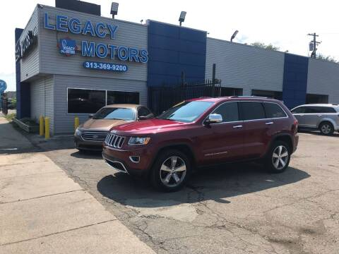 2015 Jeep Grand Cherokee for sale at Legacy Motors in Detroit MI
