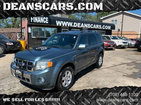 2010 Ford Escape for sale at DEANSCARS.COM in Bridgeview IL