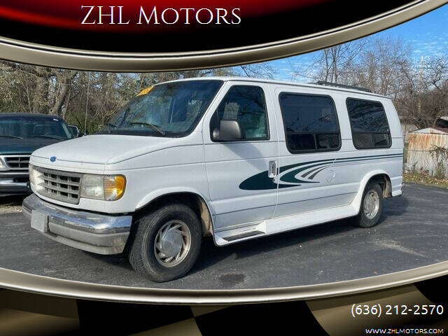 1996 Ford E-Series Cargo for sale at ZHL Motors in House Springs MO