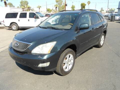 2004 Lexus RX 330 for sale at COUNTRY CLUB CARS in Mesa AZ