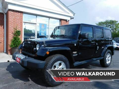 2013 Jeep Wrangler Unlimited for sale at Delaware Auto Sales in Delaware OH