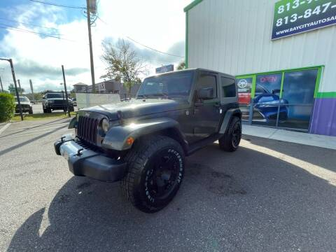 2008 Jeep Wrangler for sale at Bay City Autosales in Tampa FL