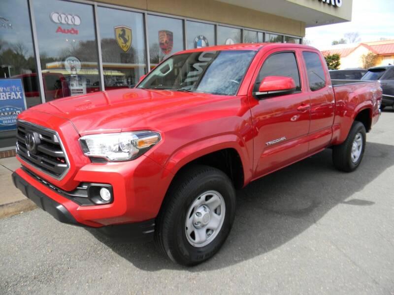 2018 Toyota Tacoma for sale at Platinum Motorcars in Warrenton VA