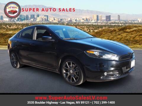 2015 Dodge Dart for sale at Super Auto Sales in Las Vegas NV