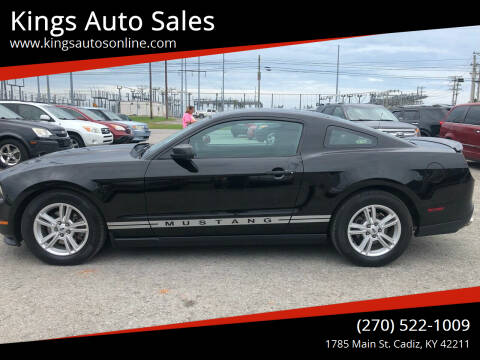 2012 Ford Mustang for sale at Kings Auto Sales in Cadiz KY