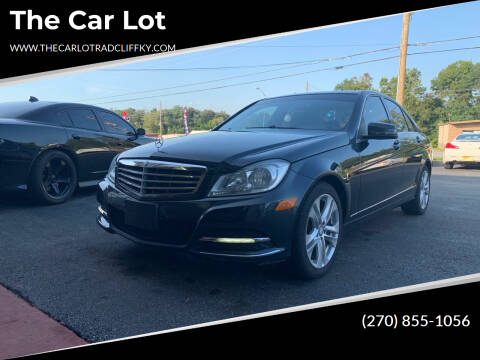 2012 Mercedes-Benz C-Class for sale at The Car Lot in Radcliff KY