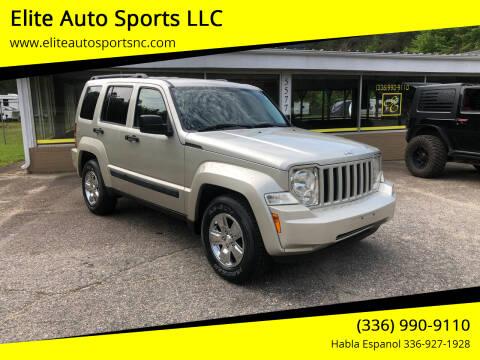 2008 Jeep Liberty for sale at Elite Auto Sports LLC in Wilkesboro NC