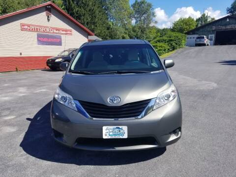 2012 Toyota Sienna for sale at Pittsford Automotive Center in Pittsford VT