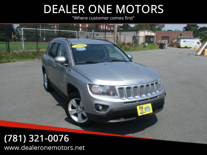 2016 Jeep Compass for sale at DEALER ONE MOTORS in Malden MA