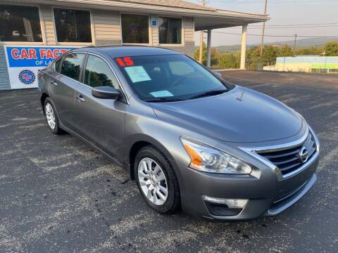 2015 Nissan Altima for sale at Car Factory of Latrobe in Latrobe PA